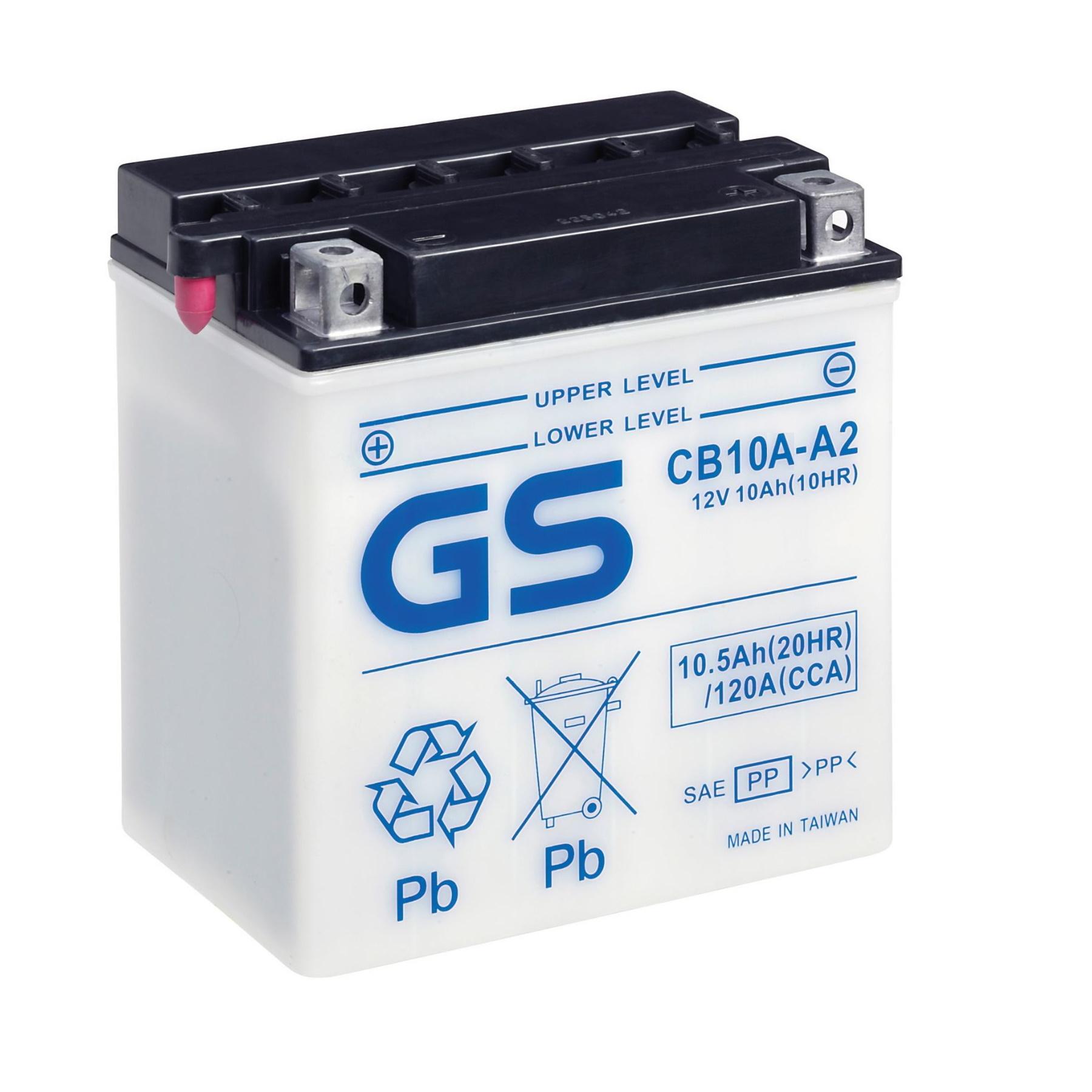 Аккумулятор GS CB10A-A2 (б/э).