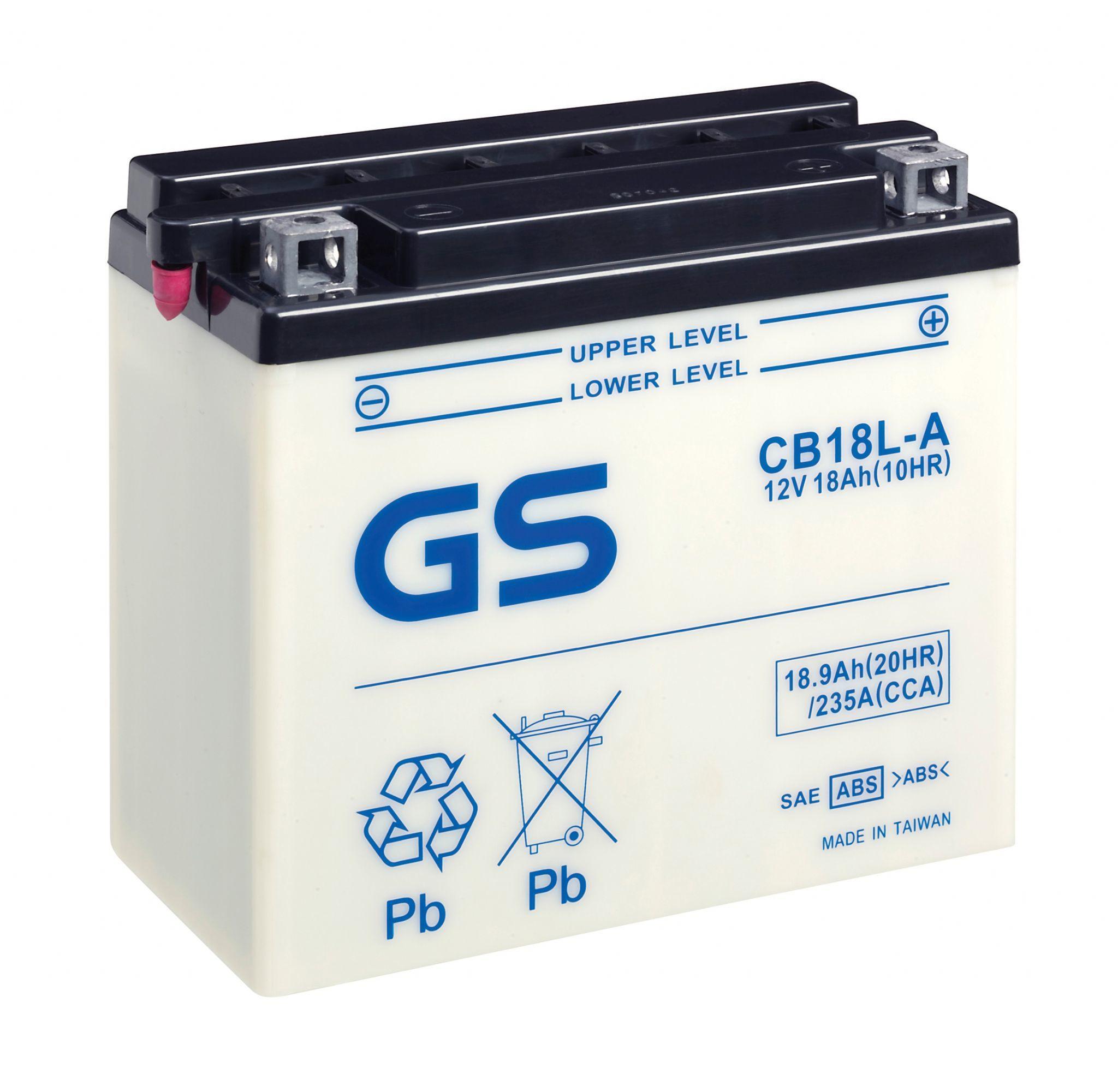 Аккумулятор GS CB18L-A (б/э).