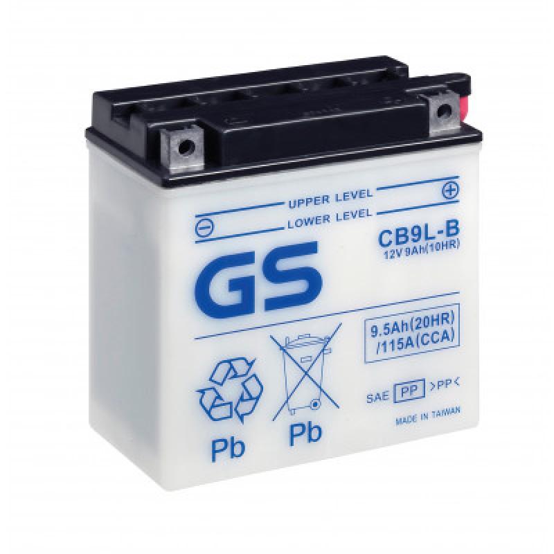 Аккумулятор GS CB9L-B.