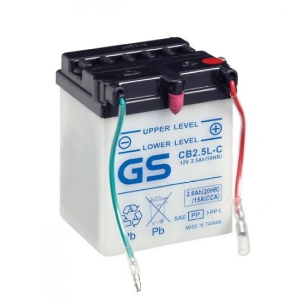 Аккумулятор GS CB2.5L-C (б/э).