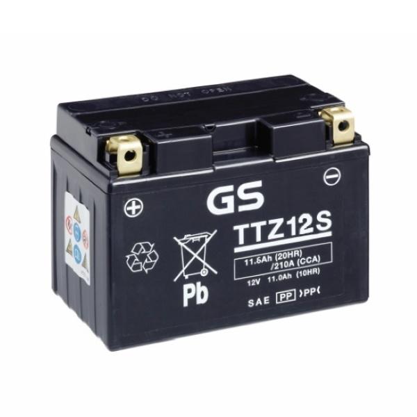 Аккумулятор GS TTZ12S.