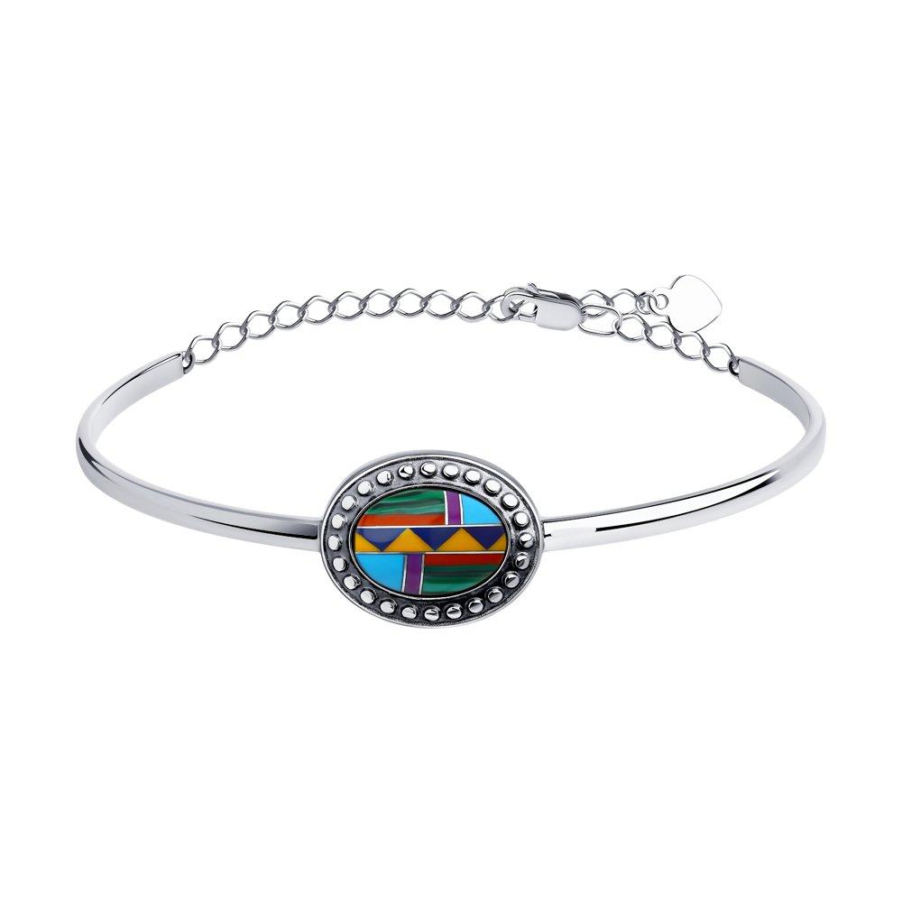 Браслет женский Diamant 95-350-00848-1 р.18