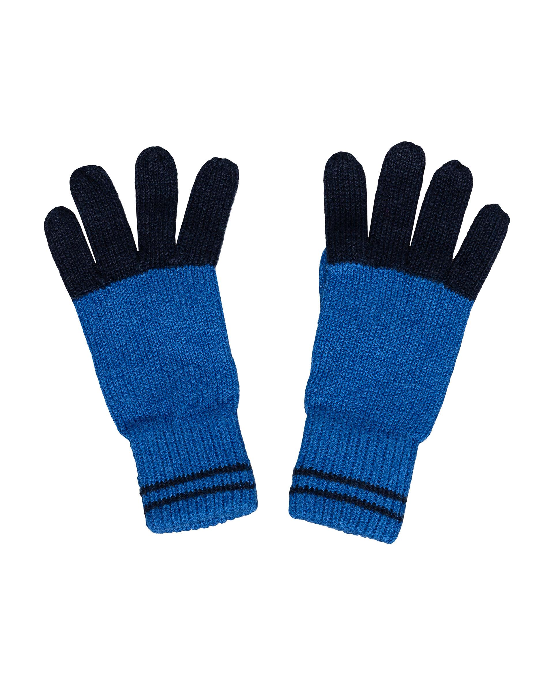 Перчатки для мальчиков Gulliver, цв. синий, р.14