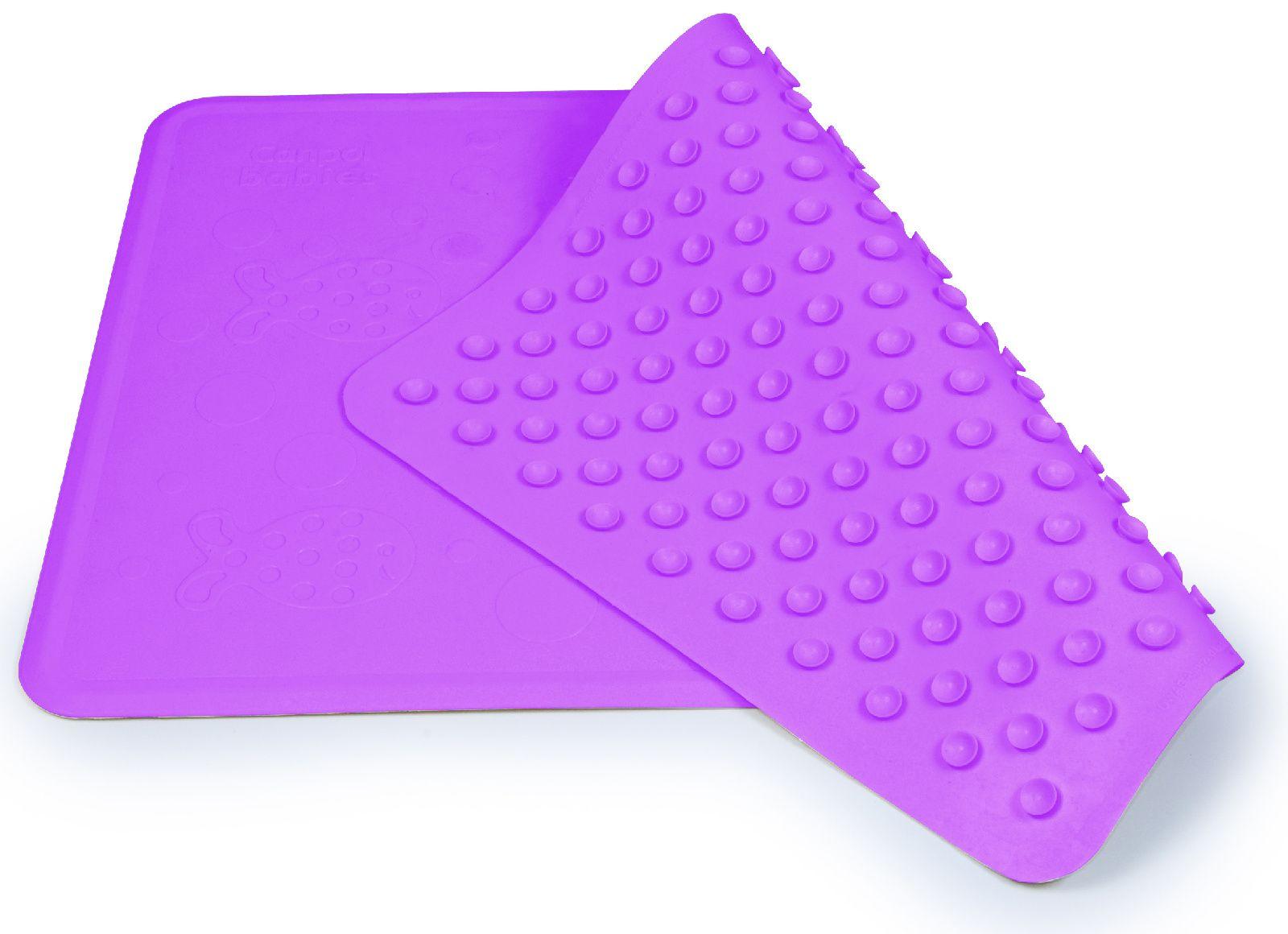 Коврик для ванны нескользящий Canpol розовый, 34x55