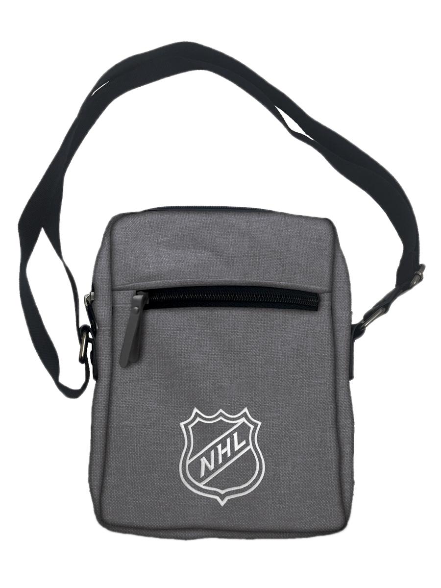 Сумка мужская NHL 059409325-GMA серая