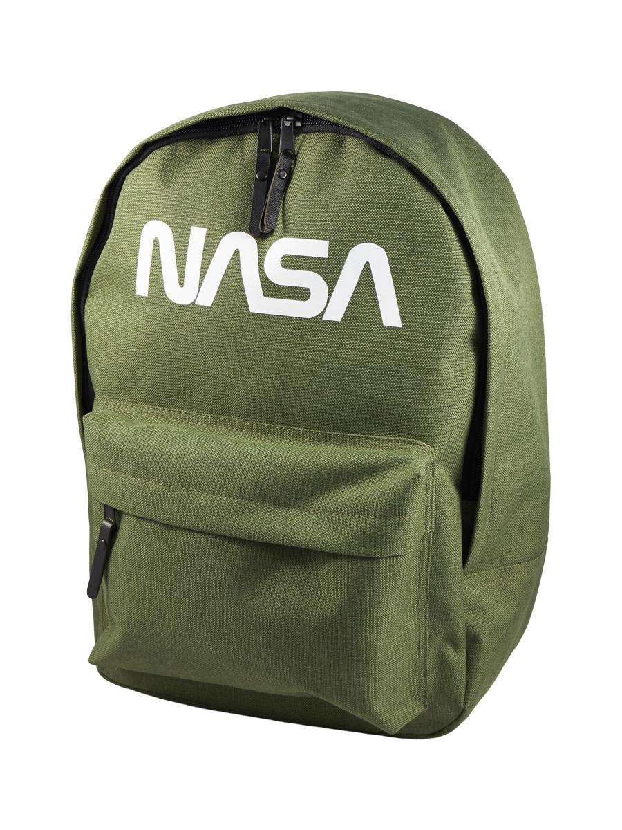 Купить Рюкзак детский NASA 086209002-OLIVE-17 38х28х13 см., цвет: оливковый,