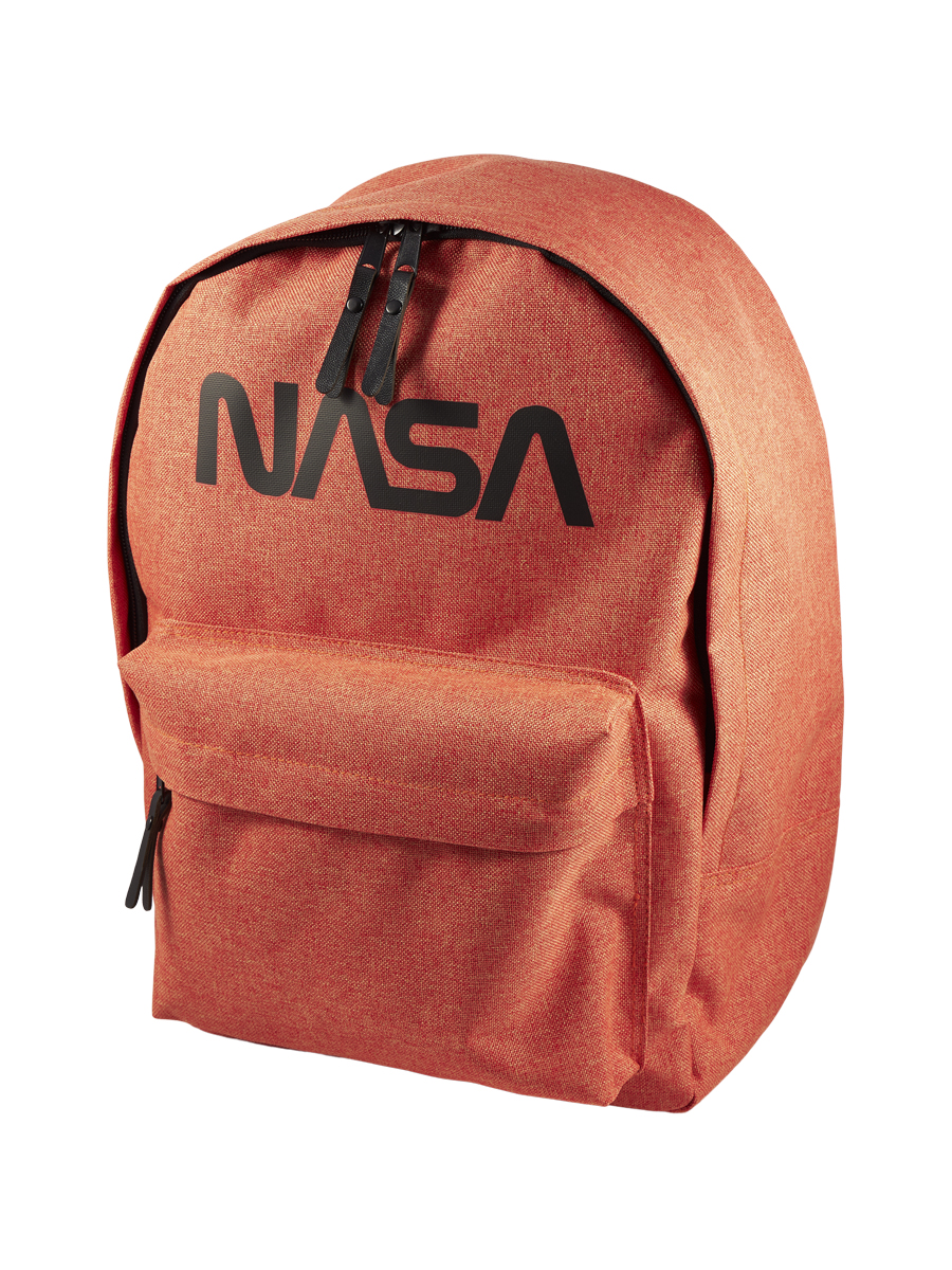 Купить Рюкзак детский NASA 086209002-ORANGE-17 38х28х13 см., цвет: оранжевый,