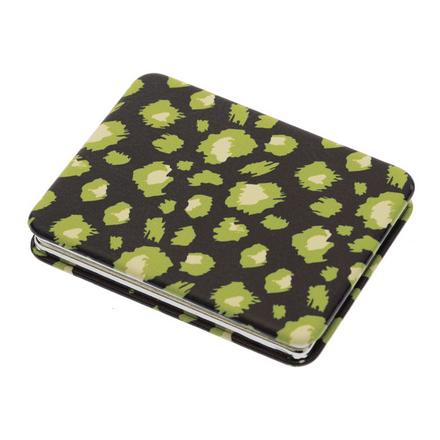 Купить Зеркало Dewal «Дикая природа» карманное прямоугольное зеленый гепард