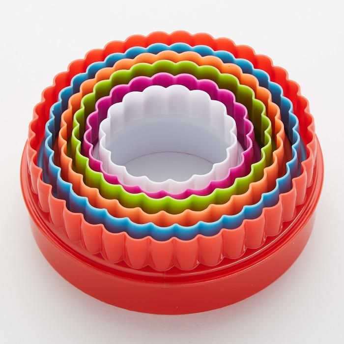 Набор форм для печенья 6 размеров Delta \