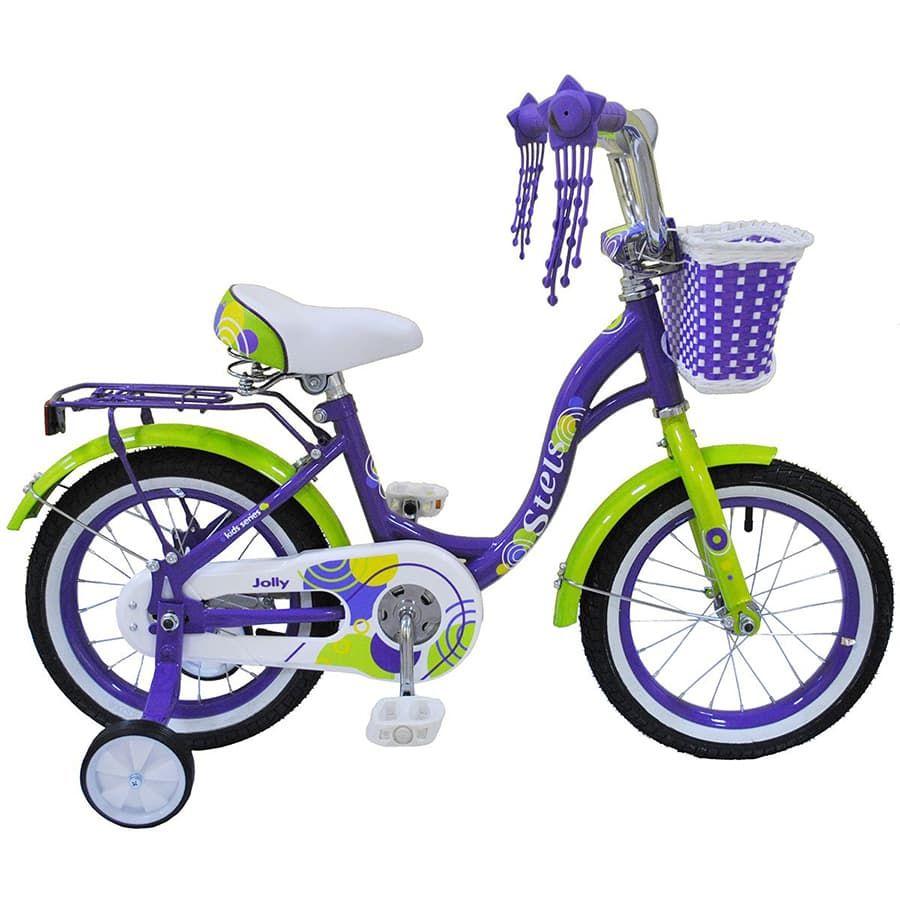 Купить Велосипед Stels Jolly V010 2020 14 фиолетовый,