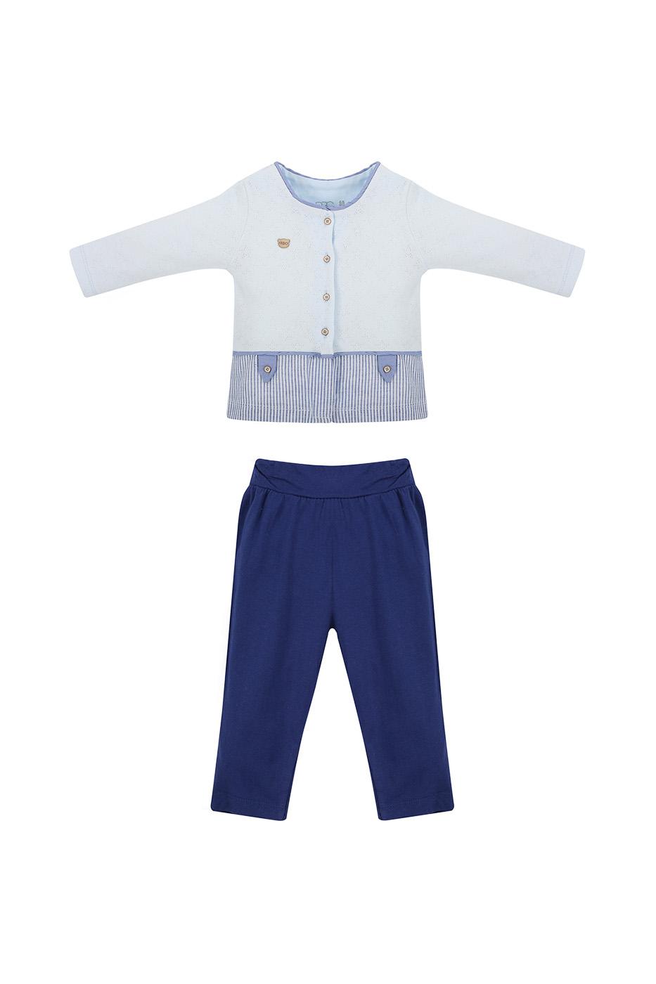 Купить МЛ473432, Комплект одежды RBC, цв. белый р.68,