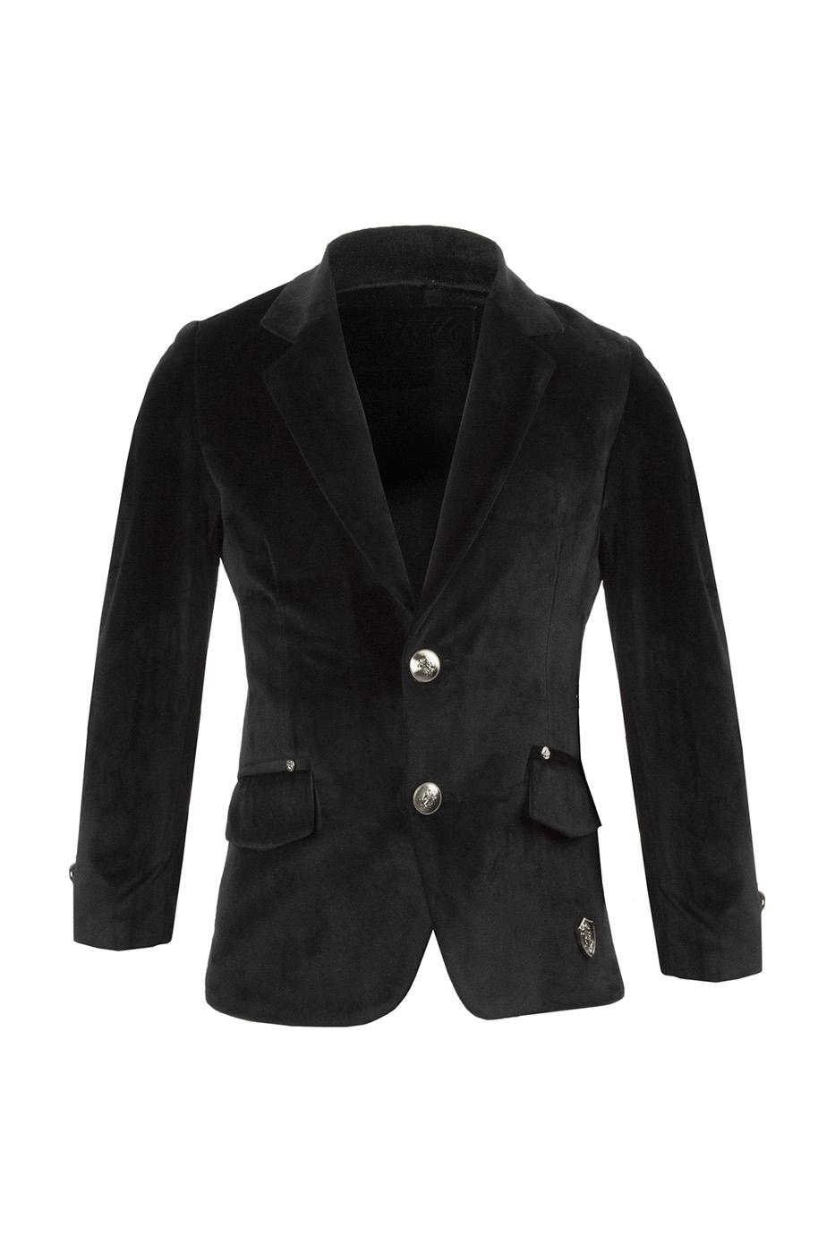 Пиджак детский Pinetti, цв. черный, р-р 164