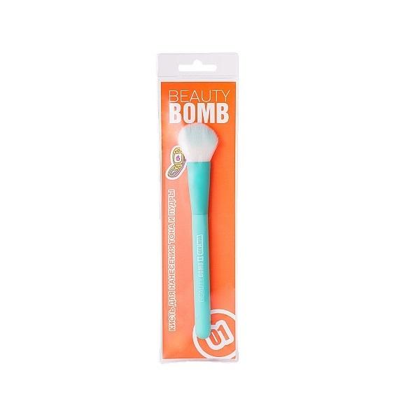 Купить Кисть для нанесения тона и пудры Beauty Bomb Multi-purpose face brush 01