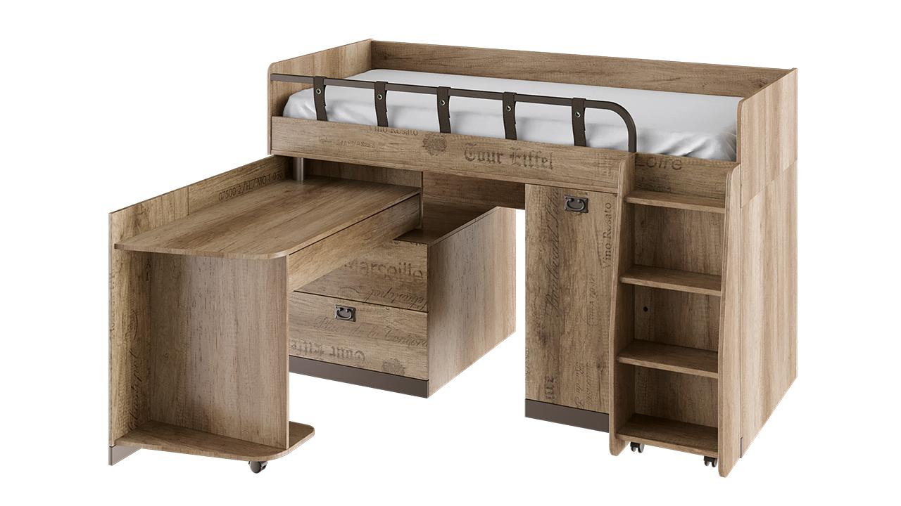 Кровать комбинированная Трия «Пилигрим»