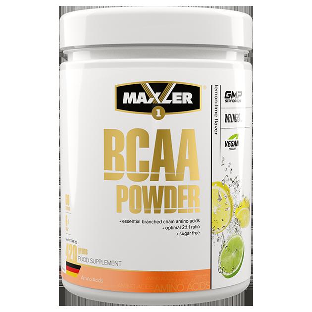Аминокислоты БЦАА MAXLER BCAA Powder Sugar Free 420 гр (Лимон-Лайм)