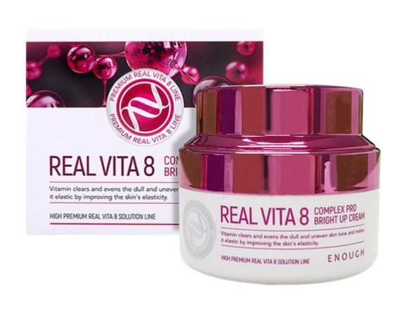 Крем для лица Enough с витаминным комплексом Real Vita 8 Complex Pro Bright Up Cream,50 мл