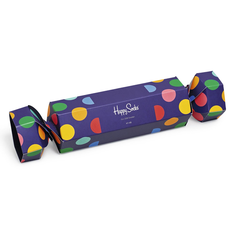 Набор носков унисекс Happy Socks из 2-x пар носков Christmas Cracker Gift Box 41-46