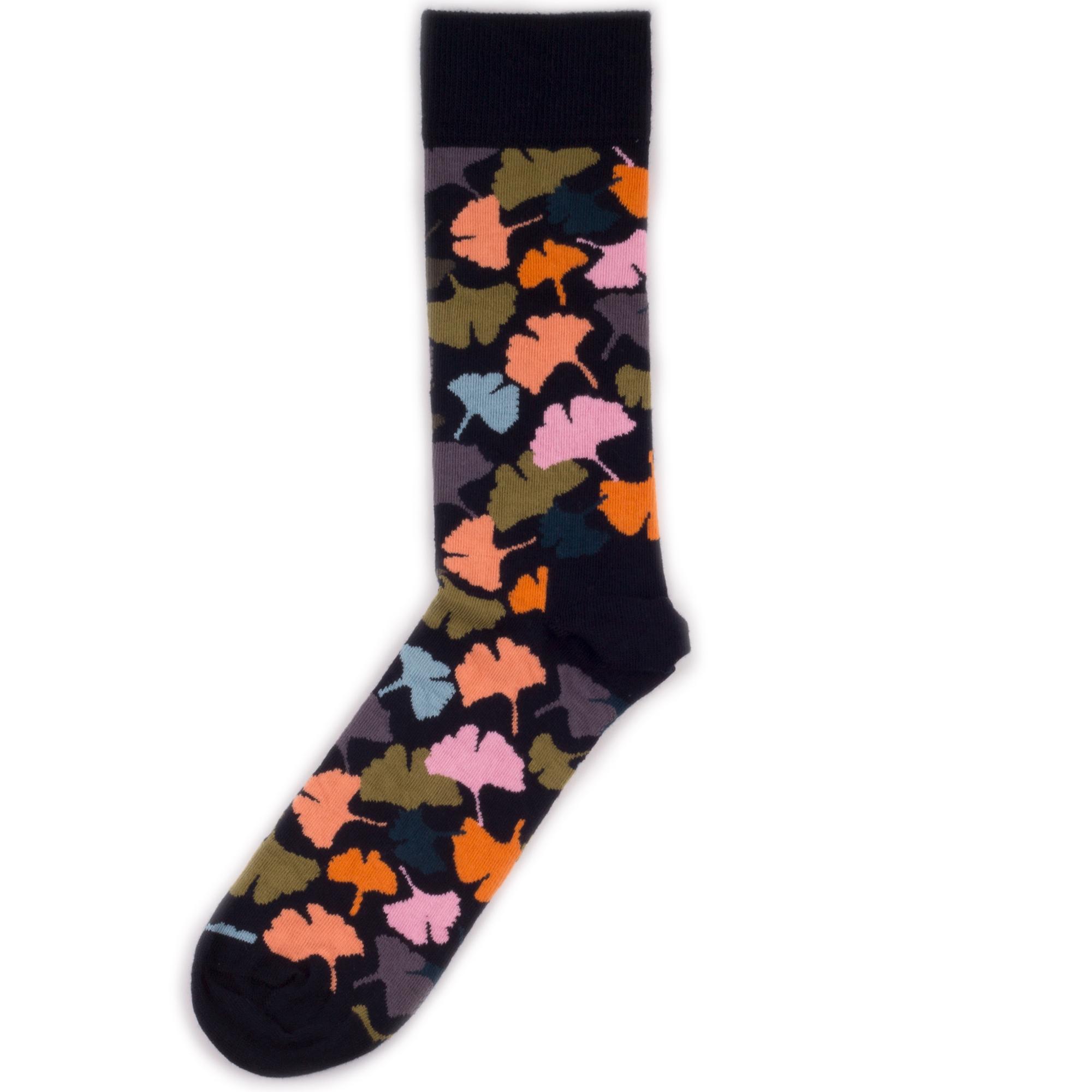 Носки унисекс Happy Socks Ginko коричневые 36-40
