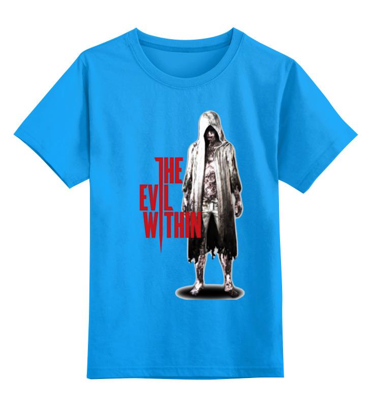 Купить 0000000685490, Детская футболка классическая Printio The evil within, р. 164,