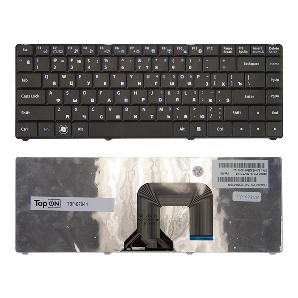 Клавиатура TopON для ноутбука Asus N20, N20A,