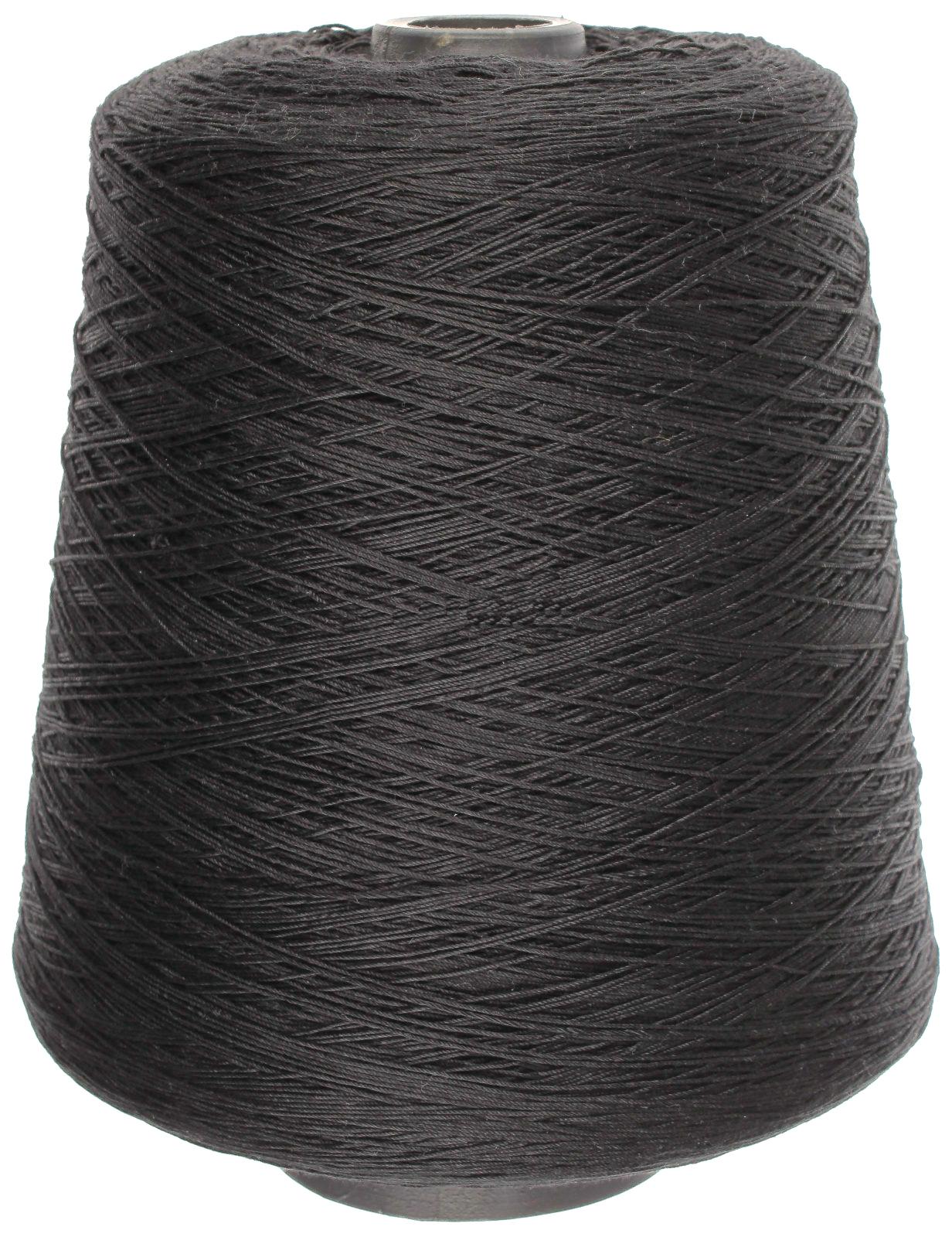 Нитки армированные швейные, 5000 м (цвет: черный), арт. 150 ЛХ