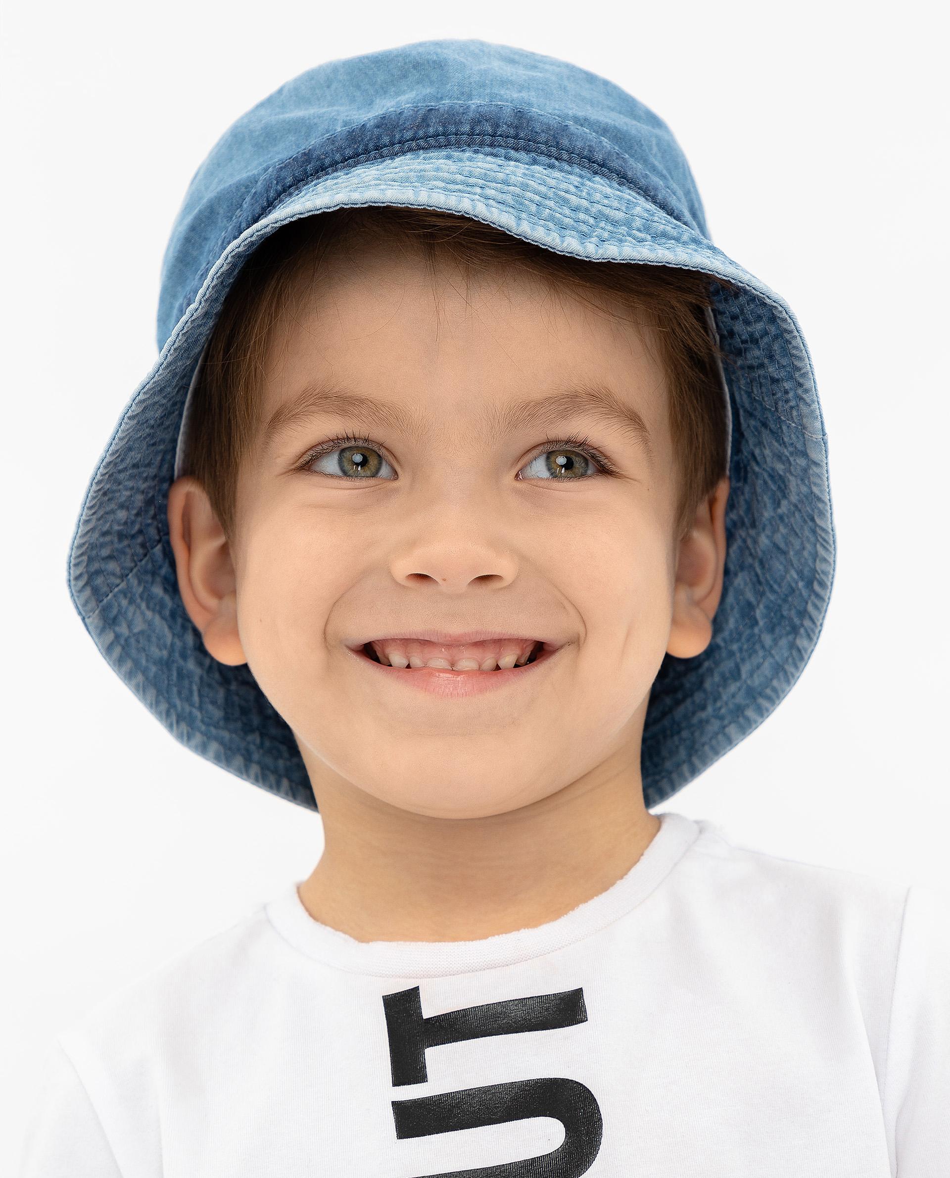 Панама детская Gulliver, цв. голубой р