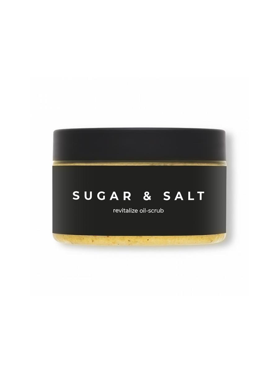 Сахарно солевой скраб для тела Dr. Ocean.