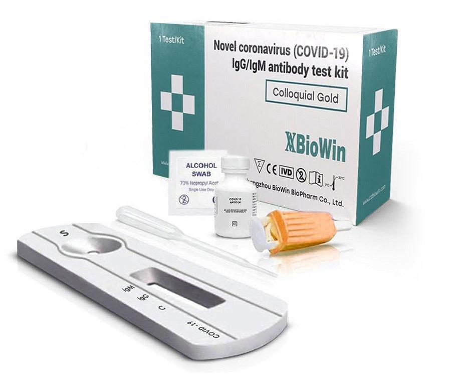 Экспресс тест на антитела COVID BioWin