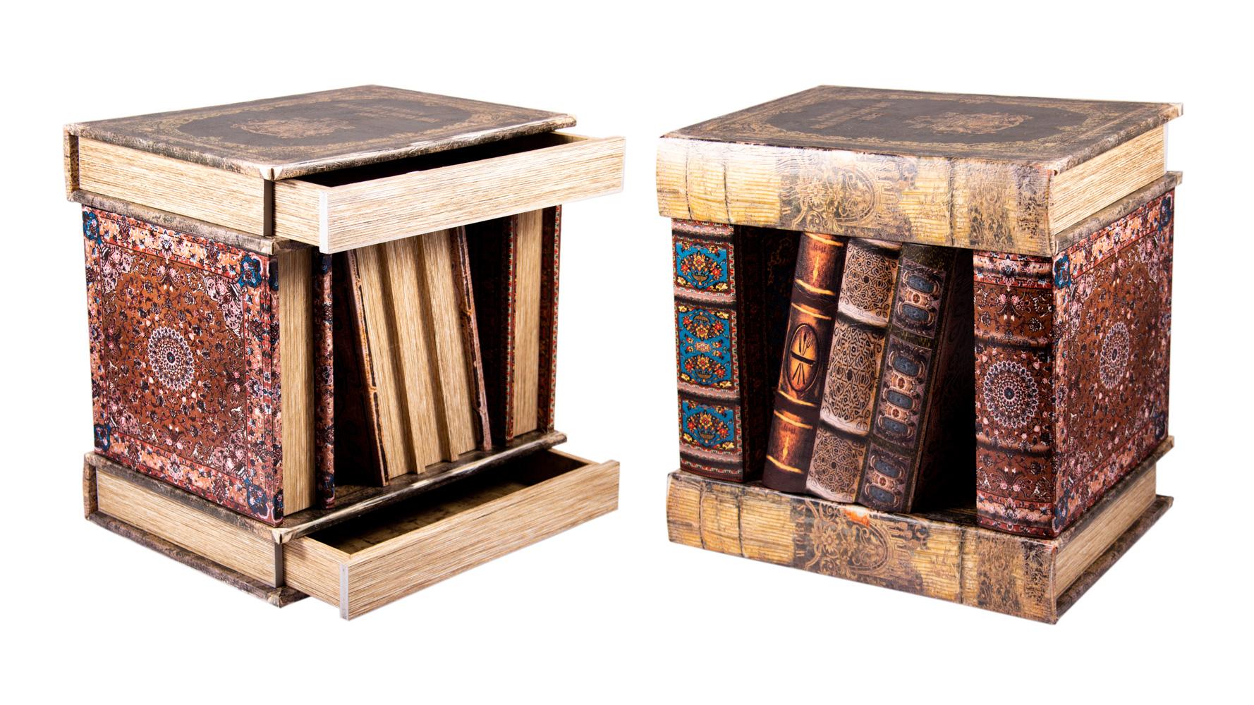 Тумбочка Книги, 33x34x37 см, арт. 184612