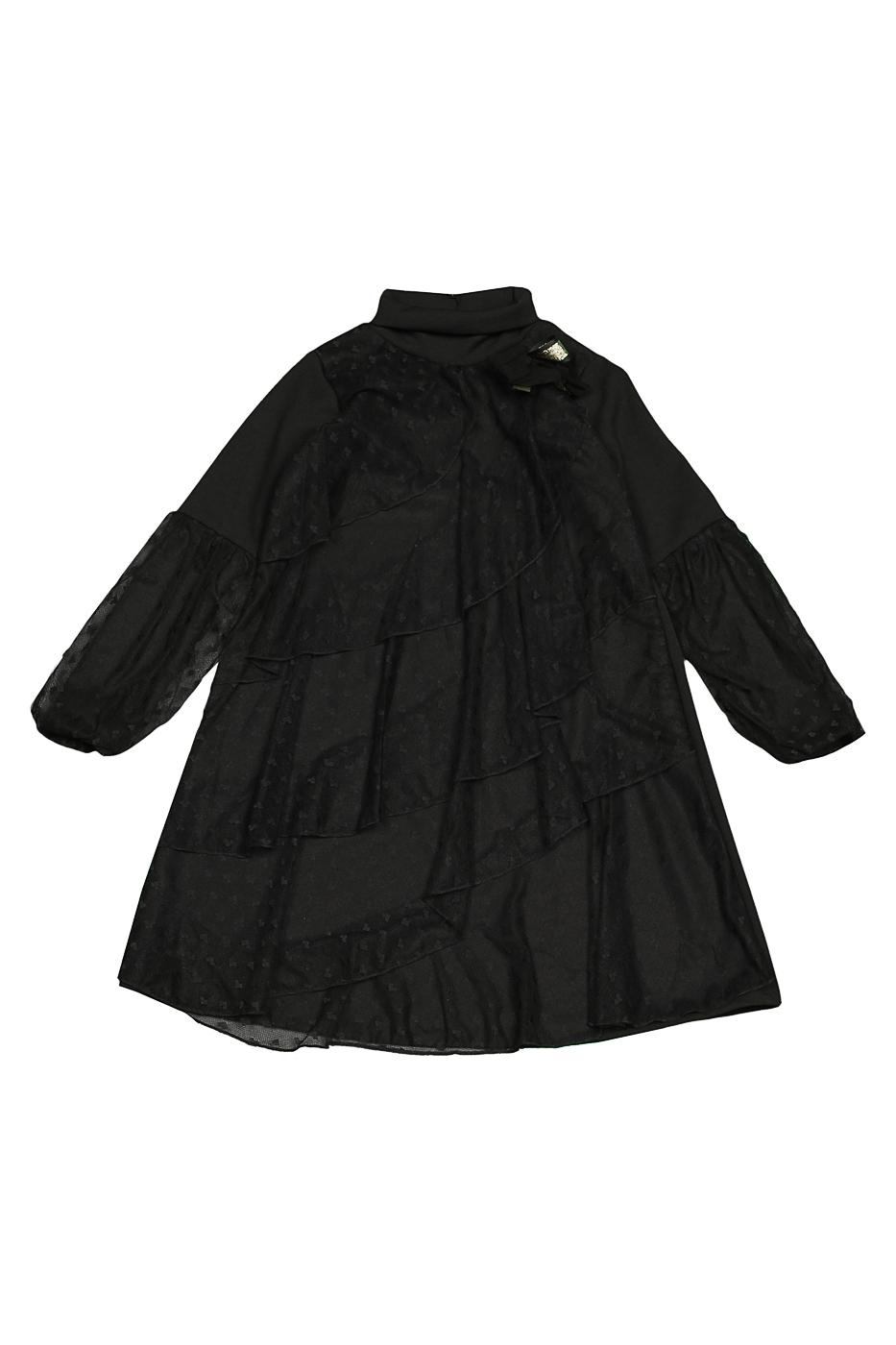 Купить 854, Платье детское LUNA LUNA, цв. черный, р-р 164, Платья для девочек