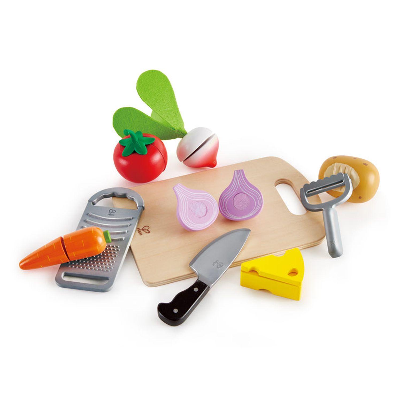 Набор посуды и продуктов Hape Основы кулинарии