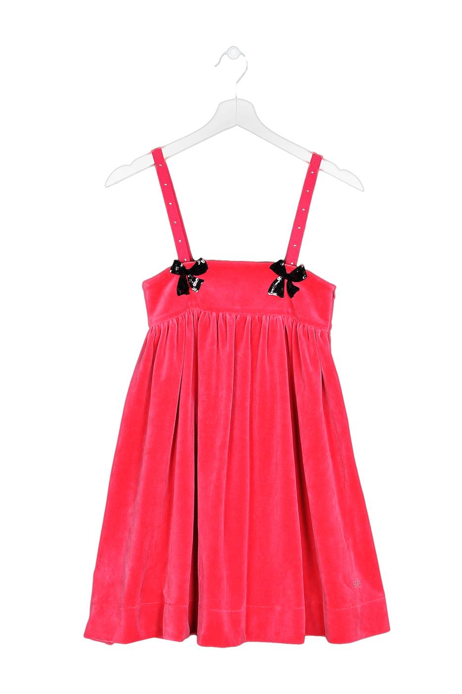 Купить 44650409, Сарафан детский Sonia Rykiel, цв. розовый, р-р 104, Сарафаны для девочек