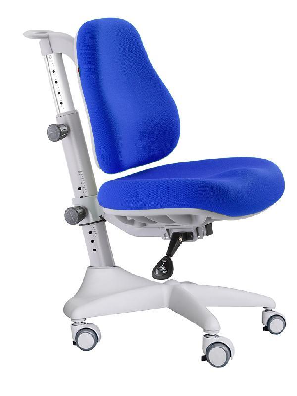 Детское кресло Mealux Match Y-528 цвет обивки: синий, цвет каркаса: серый