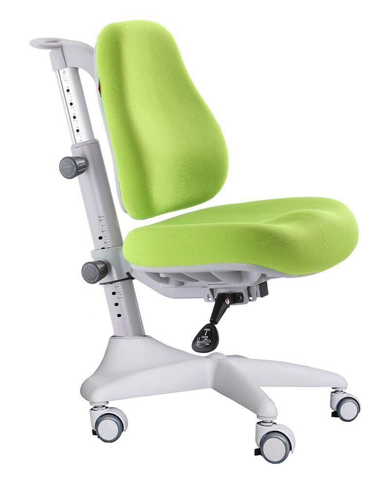 Детское кресло Mealux Match Y-528 цвет обивки: зеленый, цвет каркаса: серый