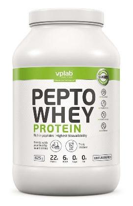 VPLab Pepto Whey Protein 625 г Гидролизат и изолят сыворотки высшего качества с пептидами фото