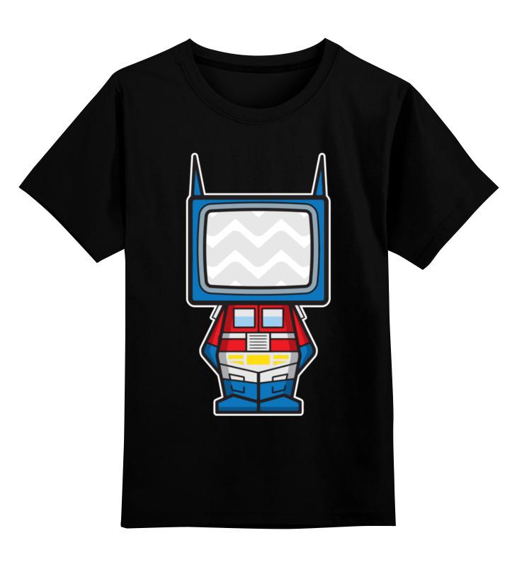 Детская футболка Printio Оптимус прайм цв.черный р.128 0000003484525 по цене 990
