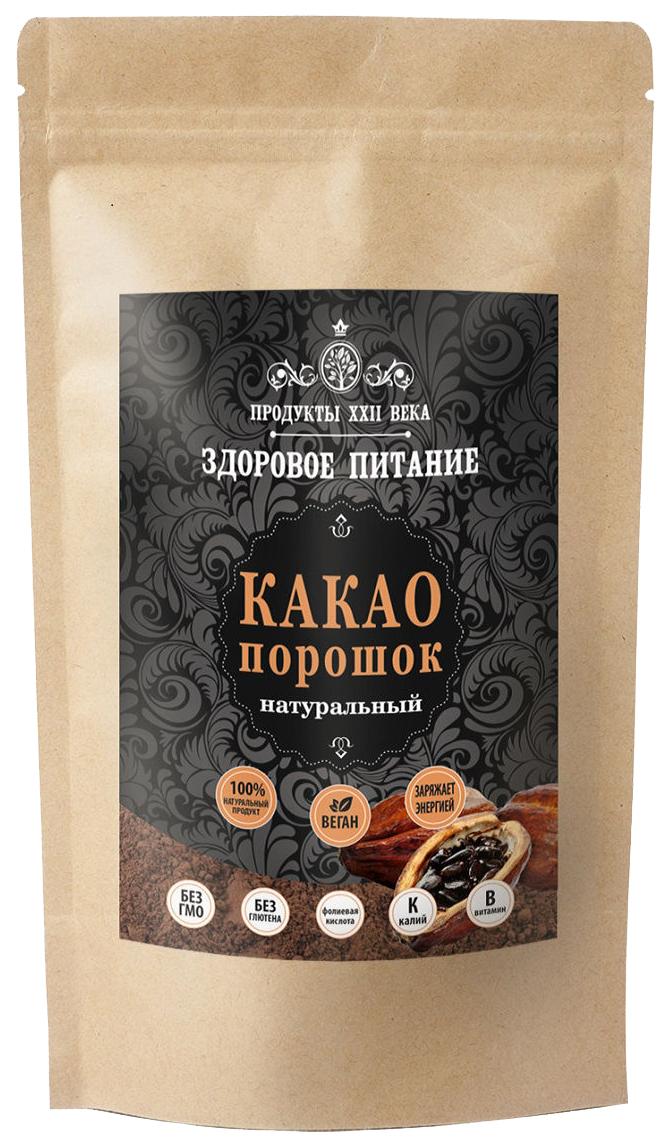 Какао порошок Продукты XXII века натуральный 100 г фото