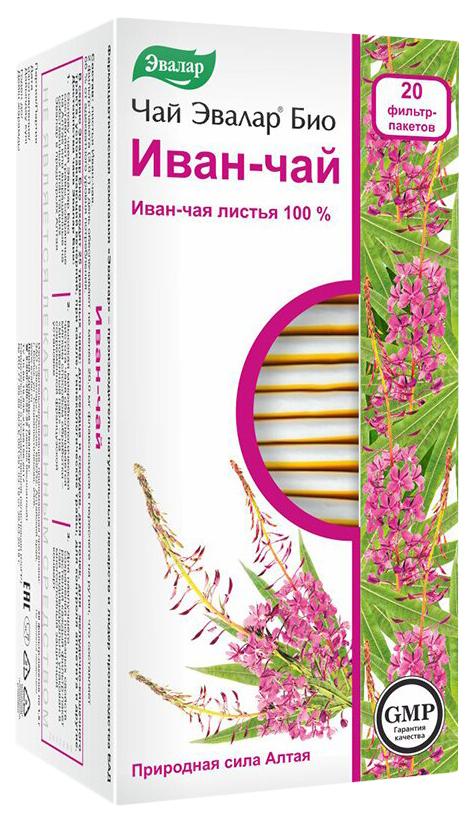 Чай Эвалар БИО Иван чай 20 фильтр