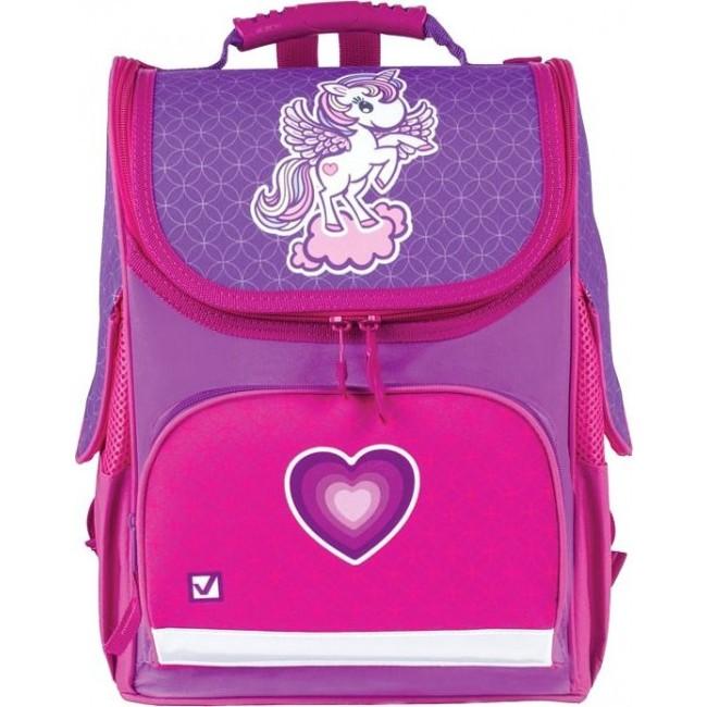 Купить Ранец BRAUBERG STYLE Юникорн, Школьные рюкзаки для девочек