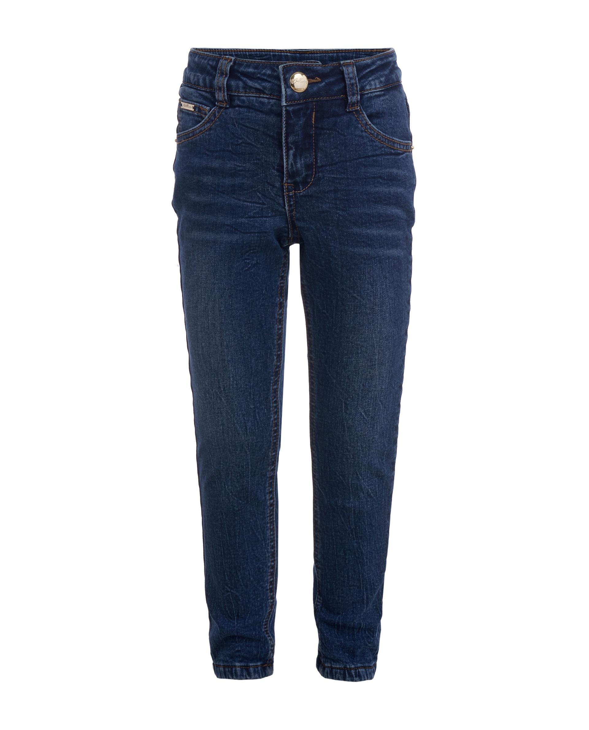 Купить 21902GMC6408, Утепленные джинсы для девочек Gulliver, цв. синий, р.104,