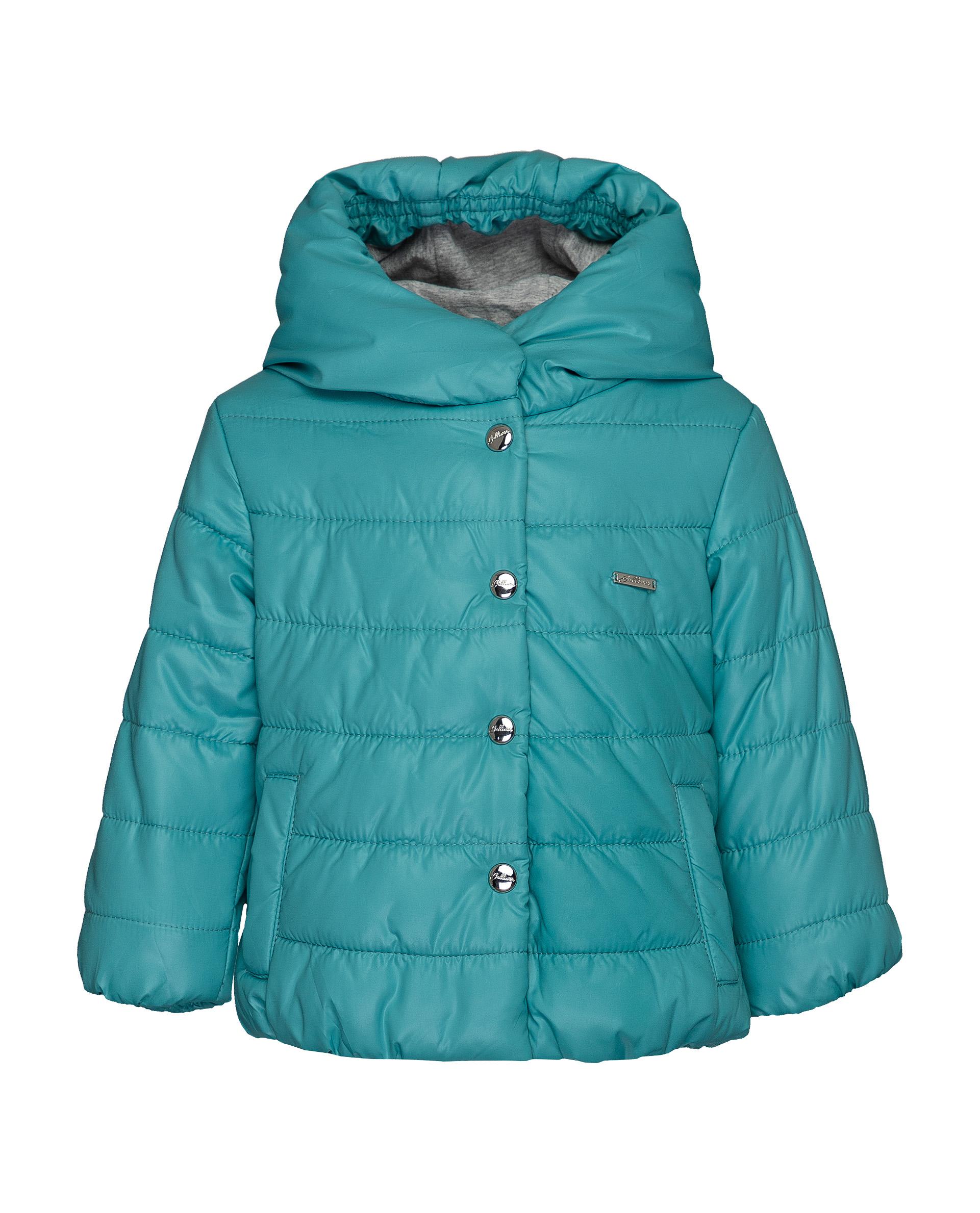 Куртка для девочек Gulliver, цв. бирюзовый, р.74 21932GBC4104