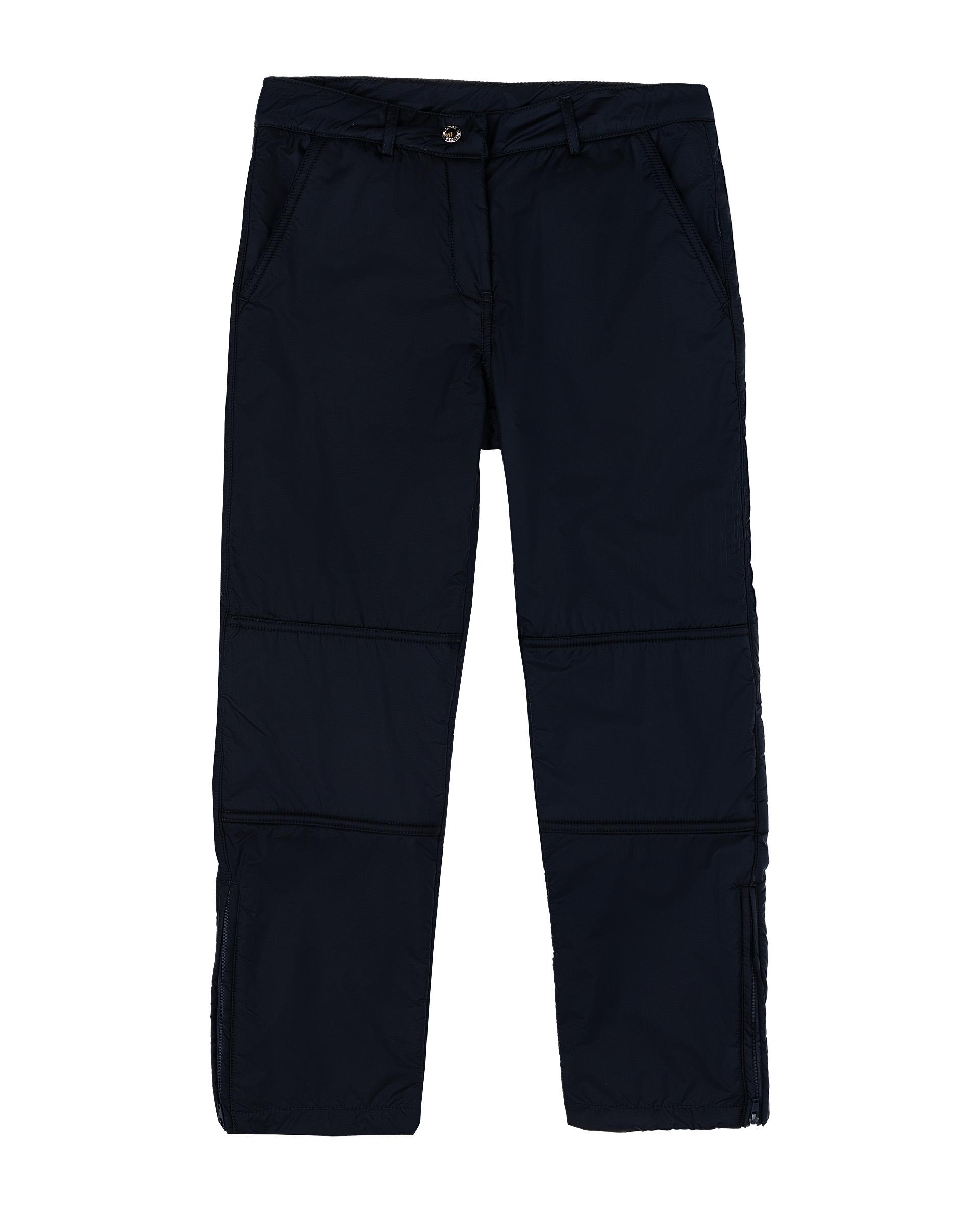 Купить 21909GJC6404, Утепленные брюки для девочек Gulliver, цв. синий, р.134,