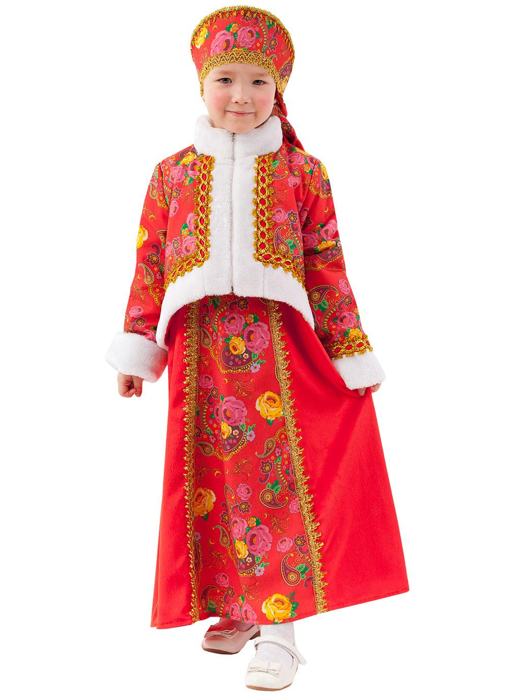 Купить Карнавальный костюм Масленица, размер 128-64, Батик,
