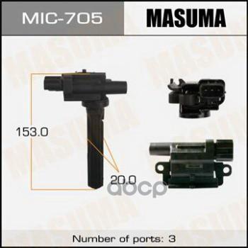 Катушка зажигания Masuma MIC705