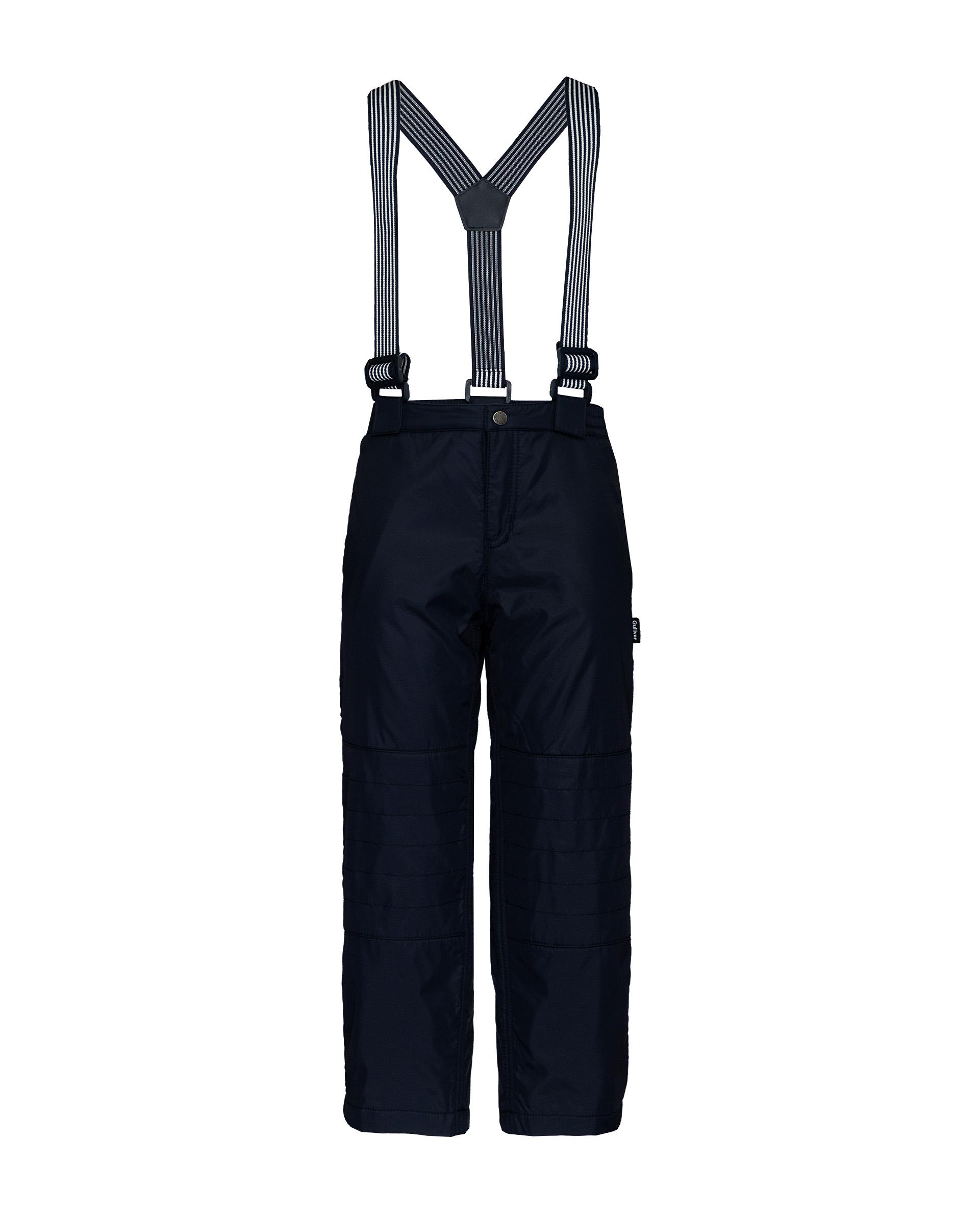 Купить 21904BMC6403, Утепленные брюки для мальчиков Gulliver, цв. синий, р.104,