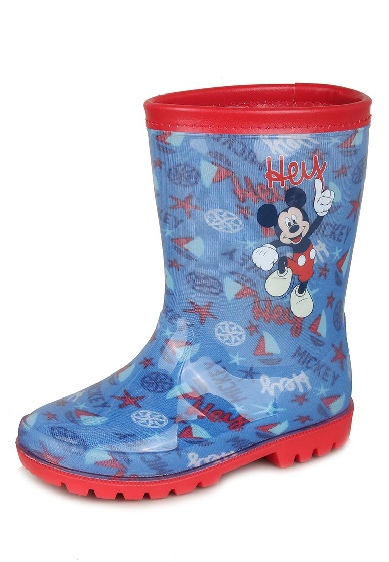 Резиновые сапоги детские Mickey Mouse, цв.синий р.23