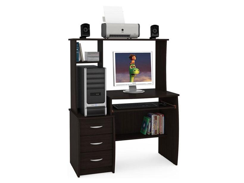 Компьютерный стол Комфорт 5 СКР Венге Магия