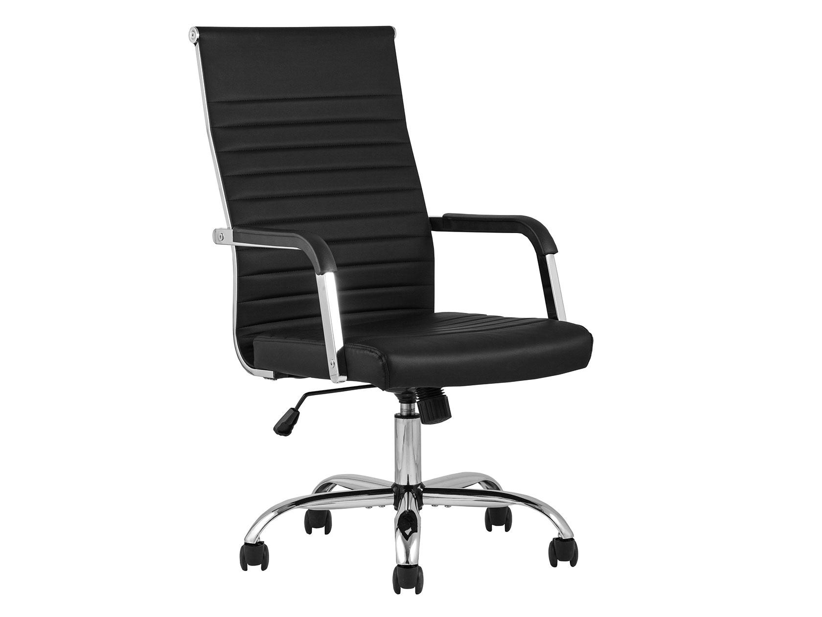 Офисное креслоTopChairsUnit Черный, экокожа