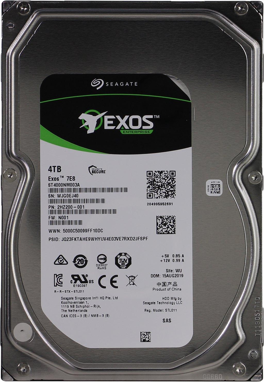 Внутренний HDD диск Seagate Exos ST4000NM003A