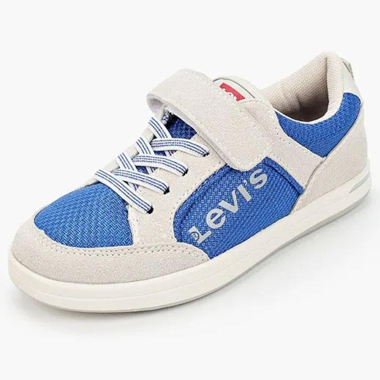 Купить 56644, Кеды детские Levi's Kids, цв. голубой р.32,